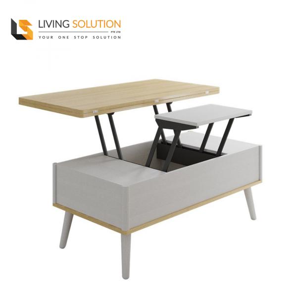 Bora Multi Functional Coffee Table White