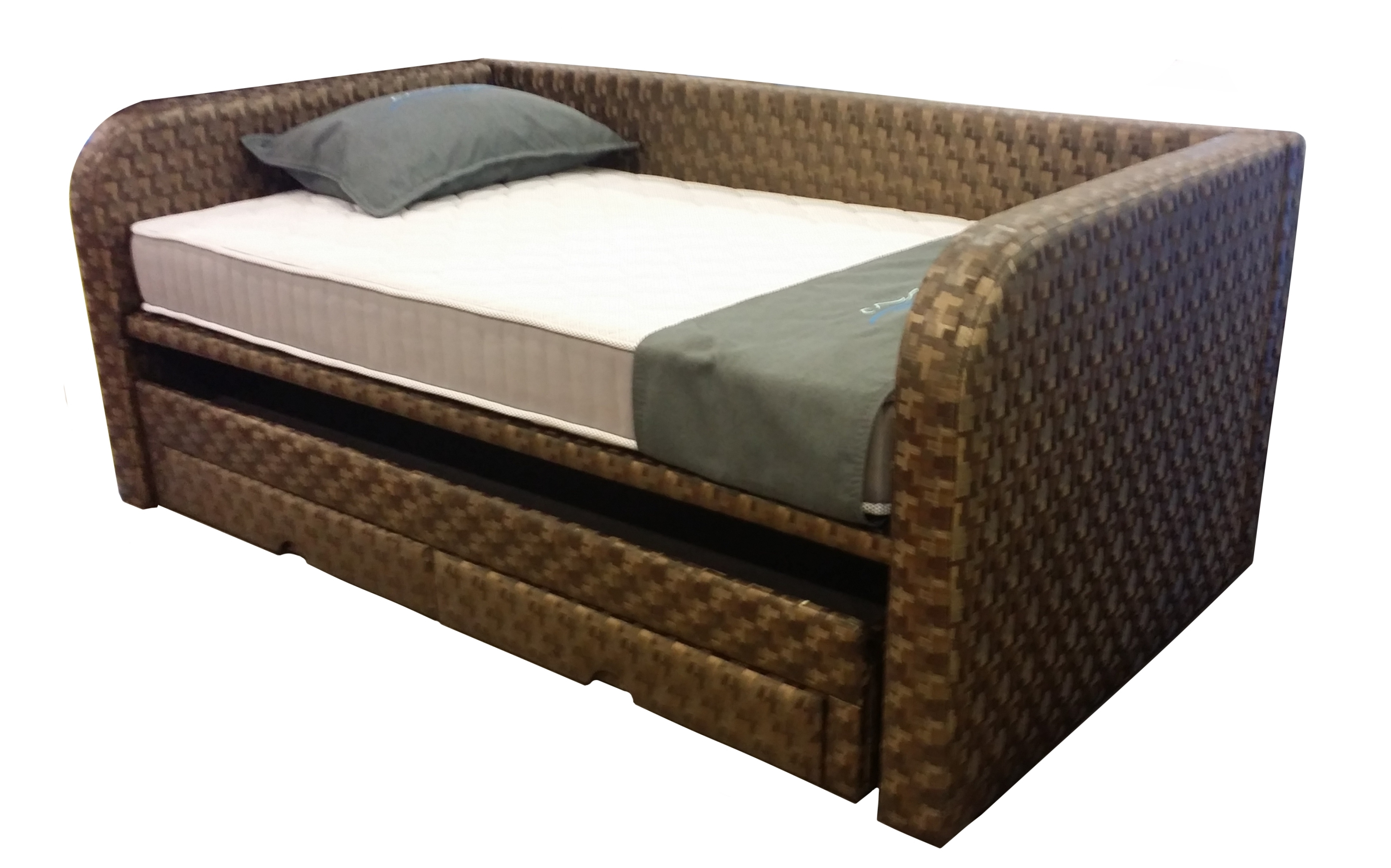 Titanium Junior Day Bed with Pull Out Bed Frame