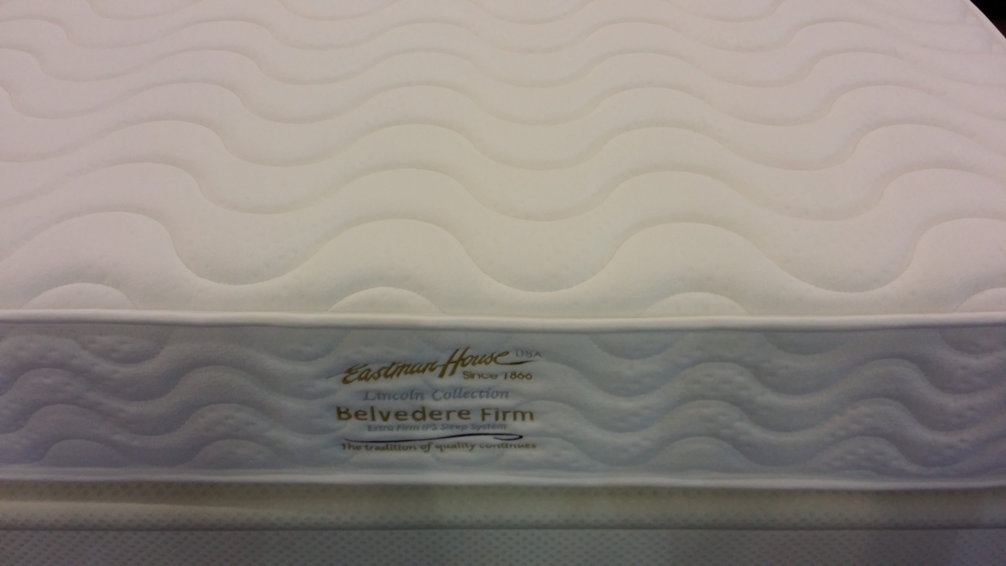 Eastman House Belvedere Firm 10'' Plush Top Individual Pocketed Spring Mattress