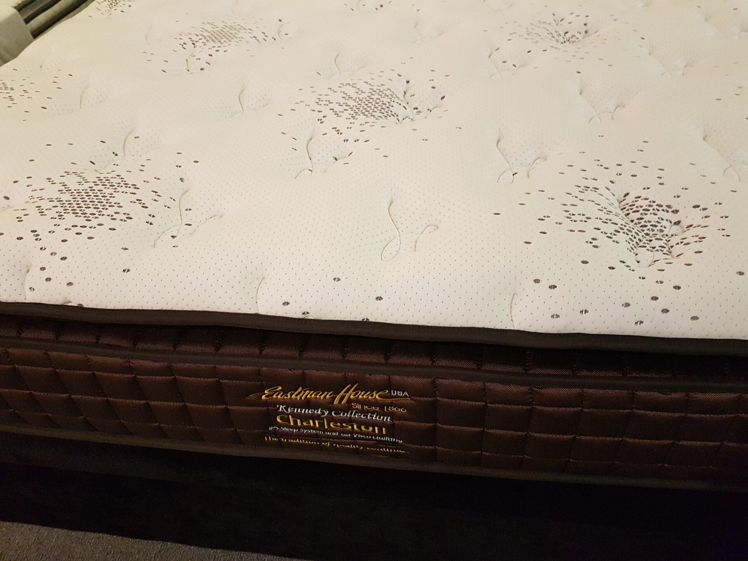 "Eastman House Charleston Gel Visco Memory Foam Quilting 3"" Plush Pillow Top Individual Pocketed Spring Mattress"