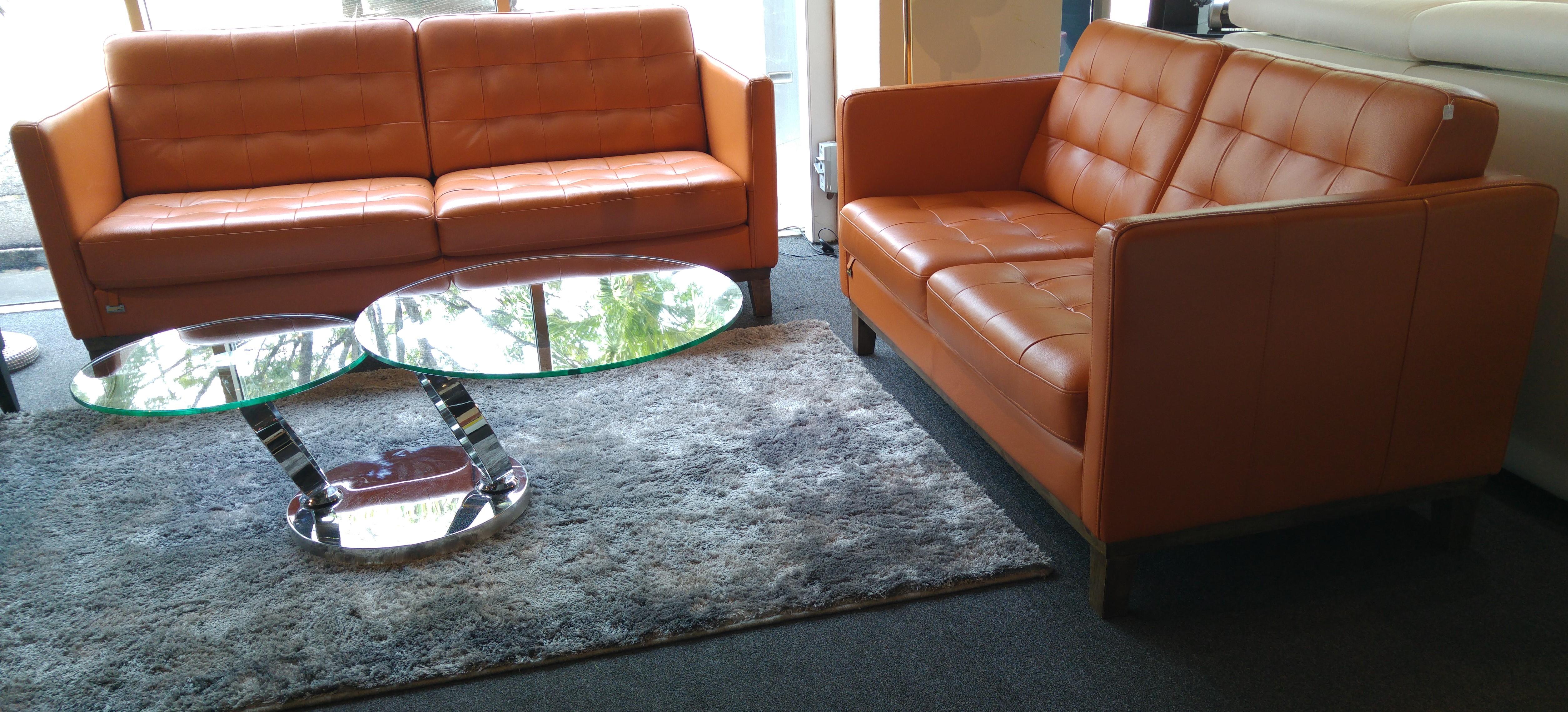 Lucason 3+2 Leather Sofa
