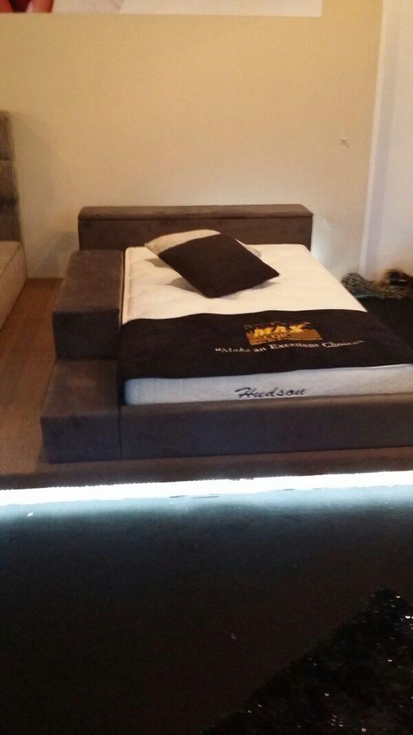 Platinum Junior Bed Frame with Side Flip Storage