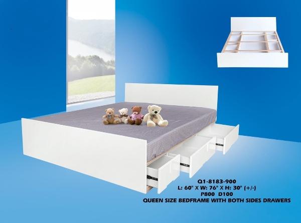 Noa Wooden Bed Frame