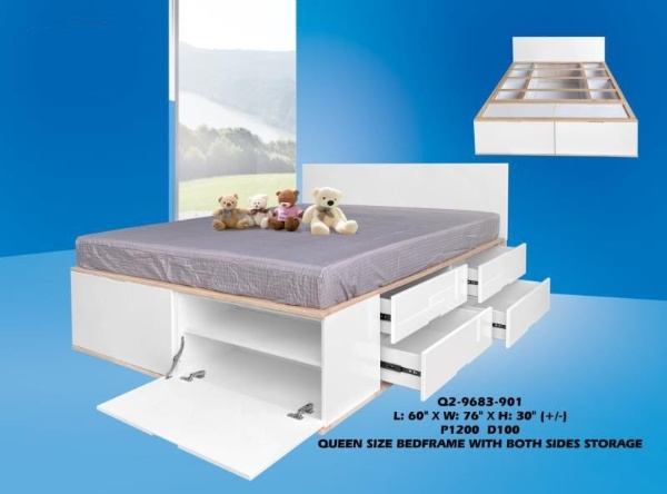 Jax Wooden Bed Frame