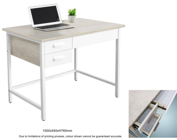Addin Study Table with Drawers