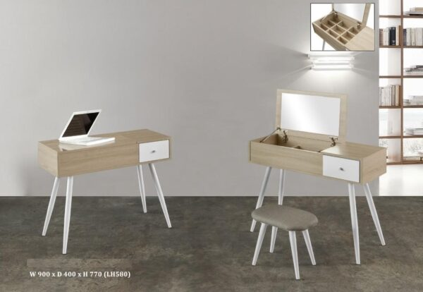 Aora Study Table / Dresser Table