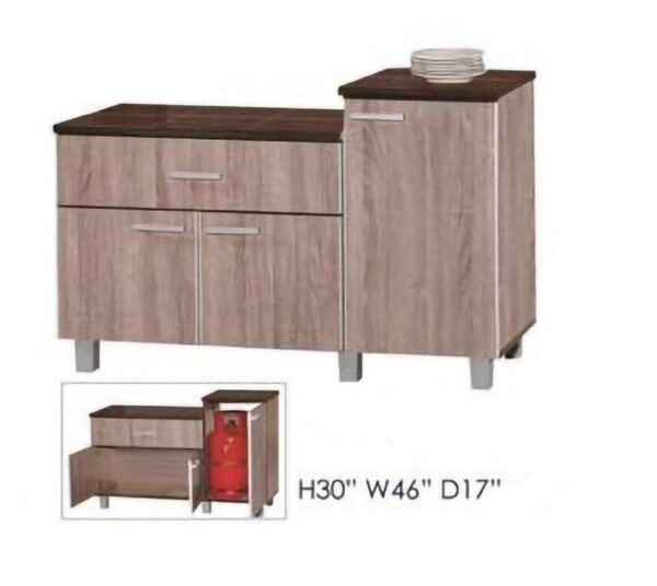Sivi Kitchen Cabinet