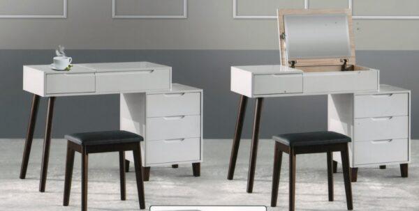 Cedrus Dresser with Stool and Storage