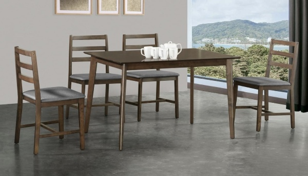 Dill Wooden Dining Table Set