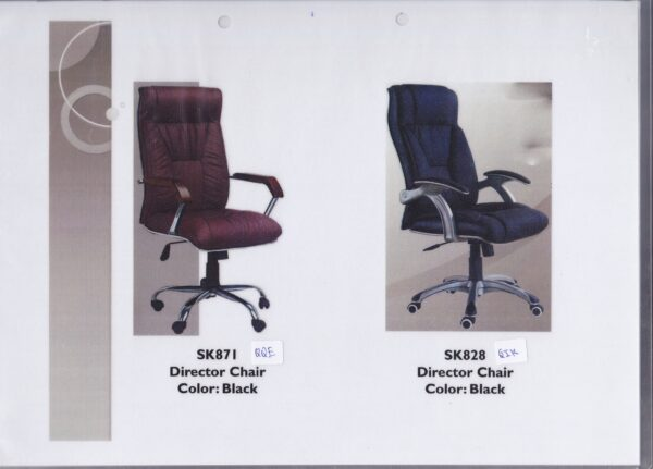 Black Director Office Chair