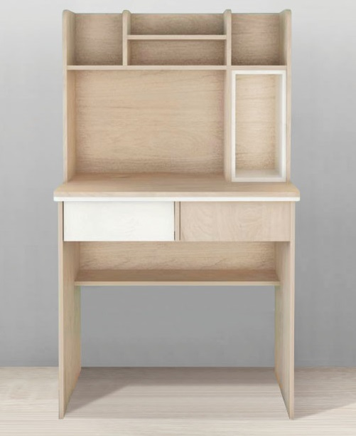 Domi Study Tablewith Shelving and Drawers