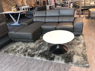 Eternity II L Shape Half Mastrotto Italia Leather Sofa