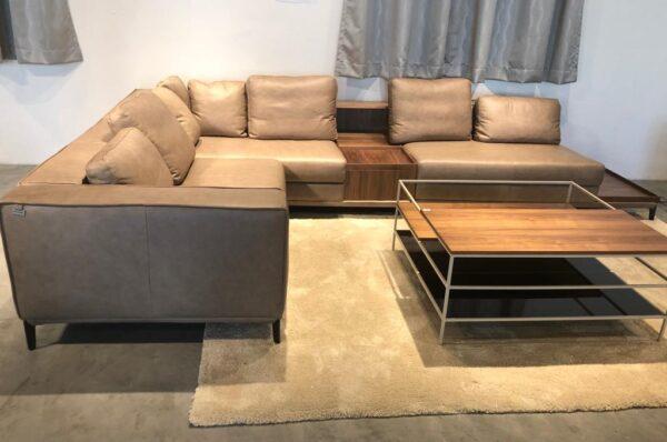 Heather Modern Corner Sofa Set