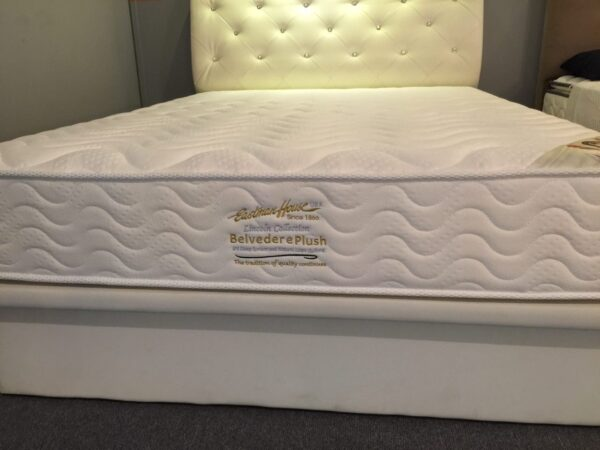 Eastman House Belvedere Plush Natural Latex Quilting Individual Pocket Spring Mattress