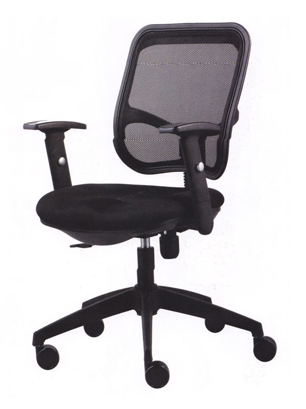 Low Back Office Chair (Black)