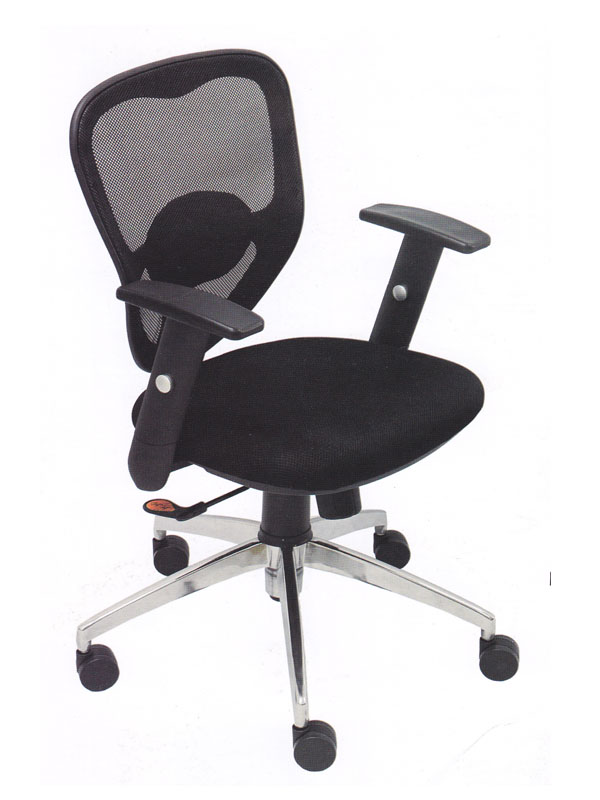 A Low Back Office Chair (Black)