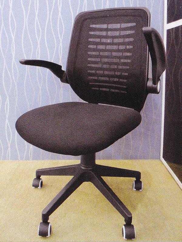 Mid Back Mesh Black Office Chair