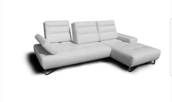 Puzi L Leather Sofa