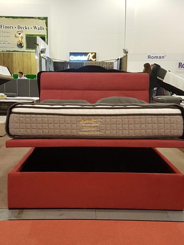 Rosy Storage Bed Frame