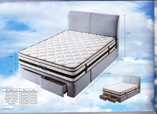 Greg II Storage Bed