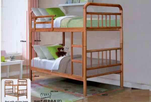 Shoori Wooden Double Decker Bed