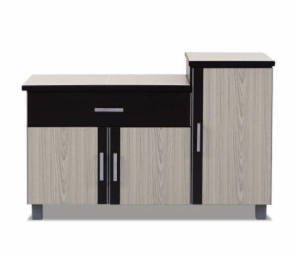 Tan Kitchen Cabinet