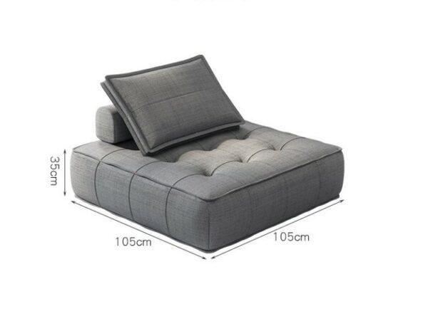Tau Fabric Sofa