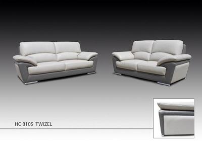 Twizel 3+2 Leather Sofa