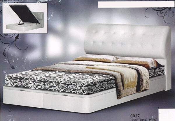 Valence Storage Bed Frame