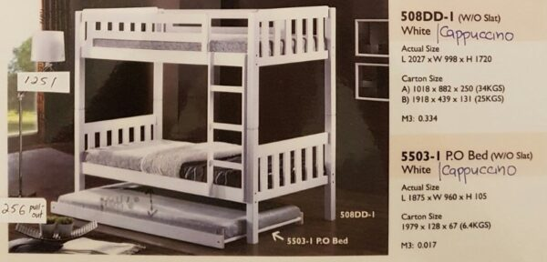 508DD-I Double Decker Bed