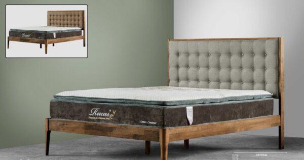 Eji Wooden Bed Frame