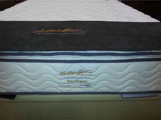 Eastman House Durham Natural Latex Quilting Individual Pocketed Spring Mattress