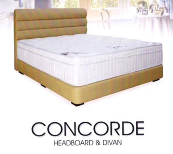 Concorde Nyatoh Wood Bed Frame