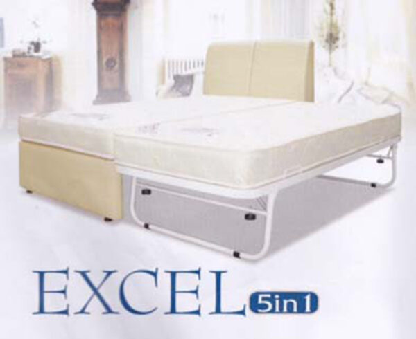 Excel 5 in 1 Pull Out Bed