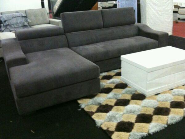Greymont L Shape Fabric Sofa