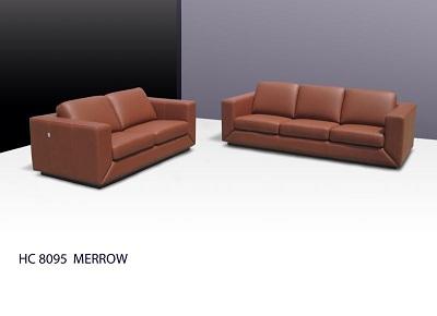 Merrow 3+2 Half Leather Sofa