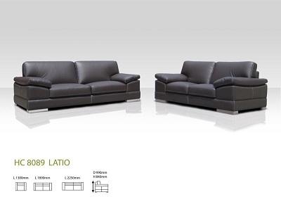 Latio 3+2 Leather Sofa