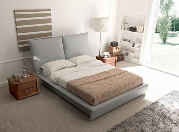 Berg Fabric Platform Bed Frame