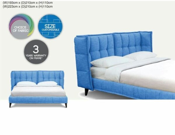 Chloe Customisable Designer Bed Frame