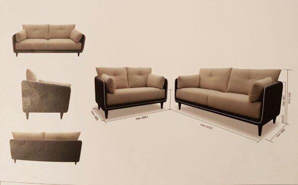 Hiru Fabric Sofa