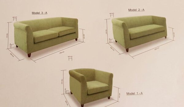 Citon Fabric Sofa