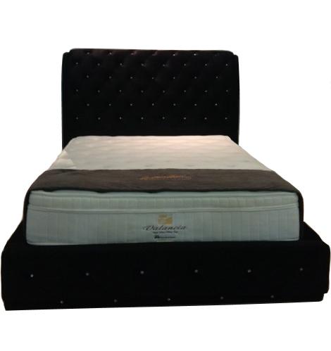 Jess Crystal Designer Storage Bed Frame