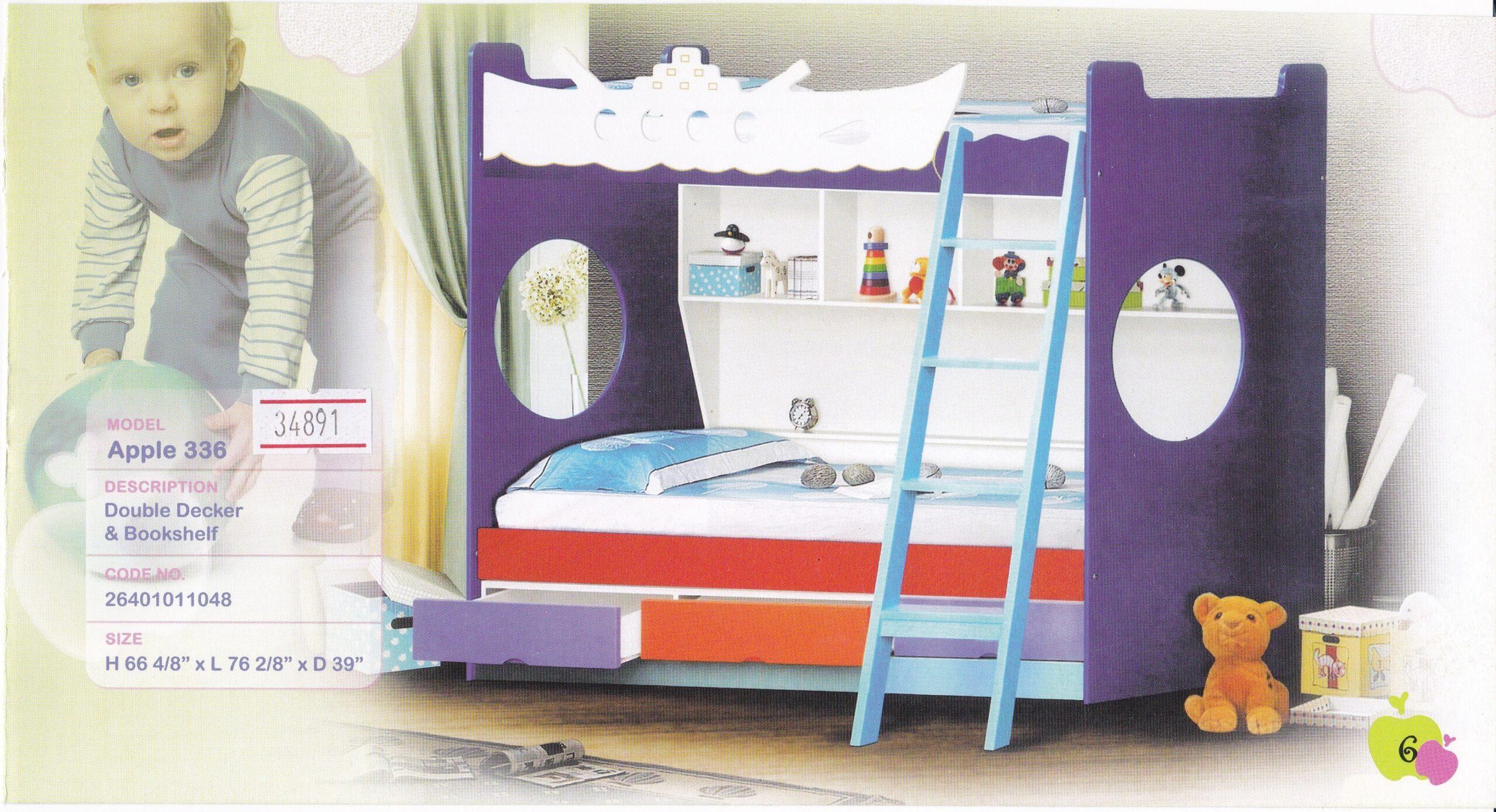 336 Double Decker Bed