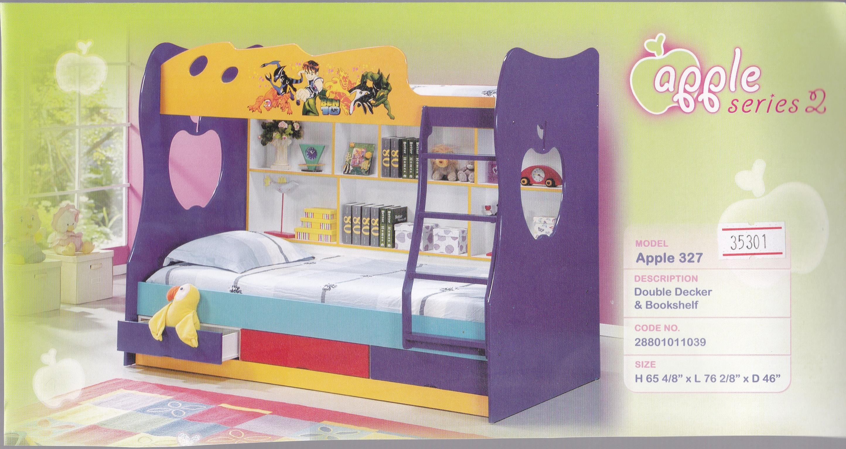 327 Double Decker Bed