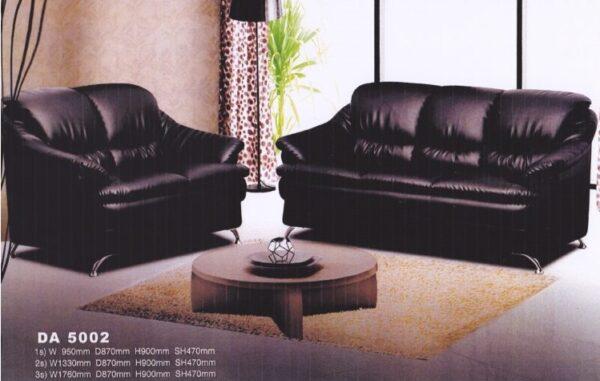 Ronio High Back PVC Sofa