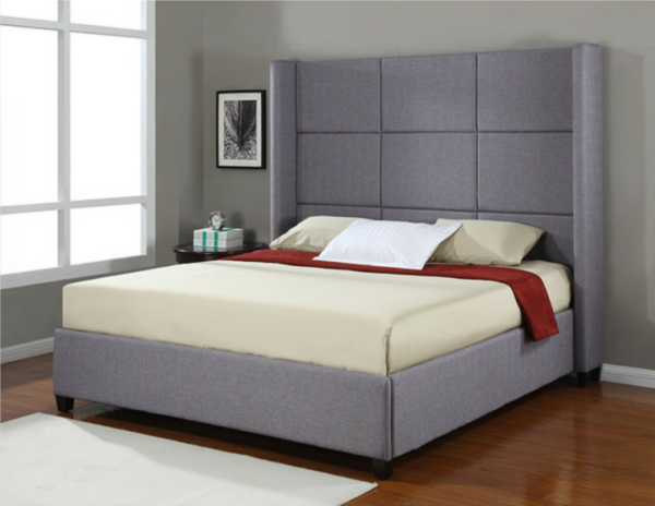 Harrison High Feature Headboard Platform Bed Frame