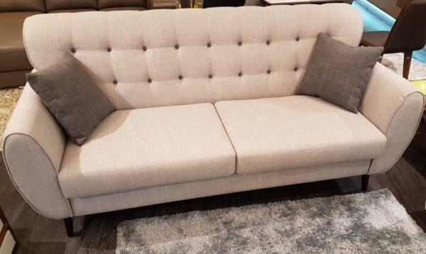 Fey 3 Seater Fabric Sofa