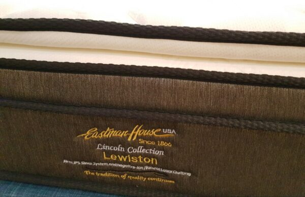 Eastman House Lewiston Negative Ion Natural Latex Quilting Individual Pocket Spring Mattress