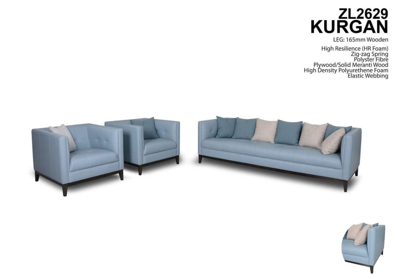 Kurgan Leather Sofa