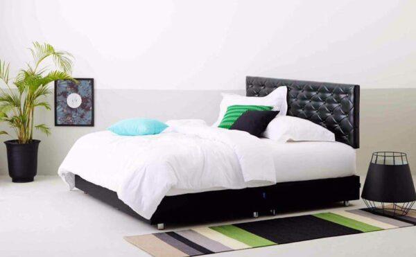 Blac Designer Bed Frame